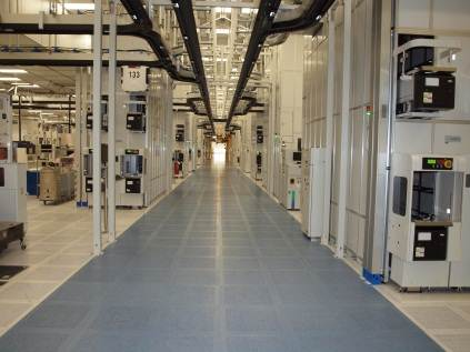 Mechanical room for Texas Instruments New Wafer Fab 1.