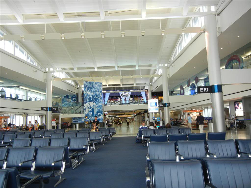 Houston Iah Airport Continental United Terminal E