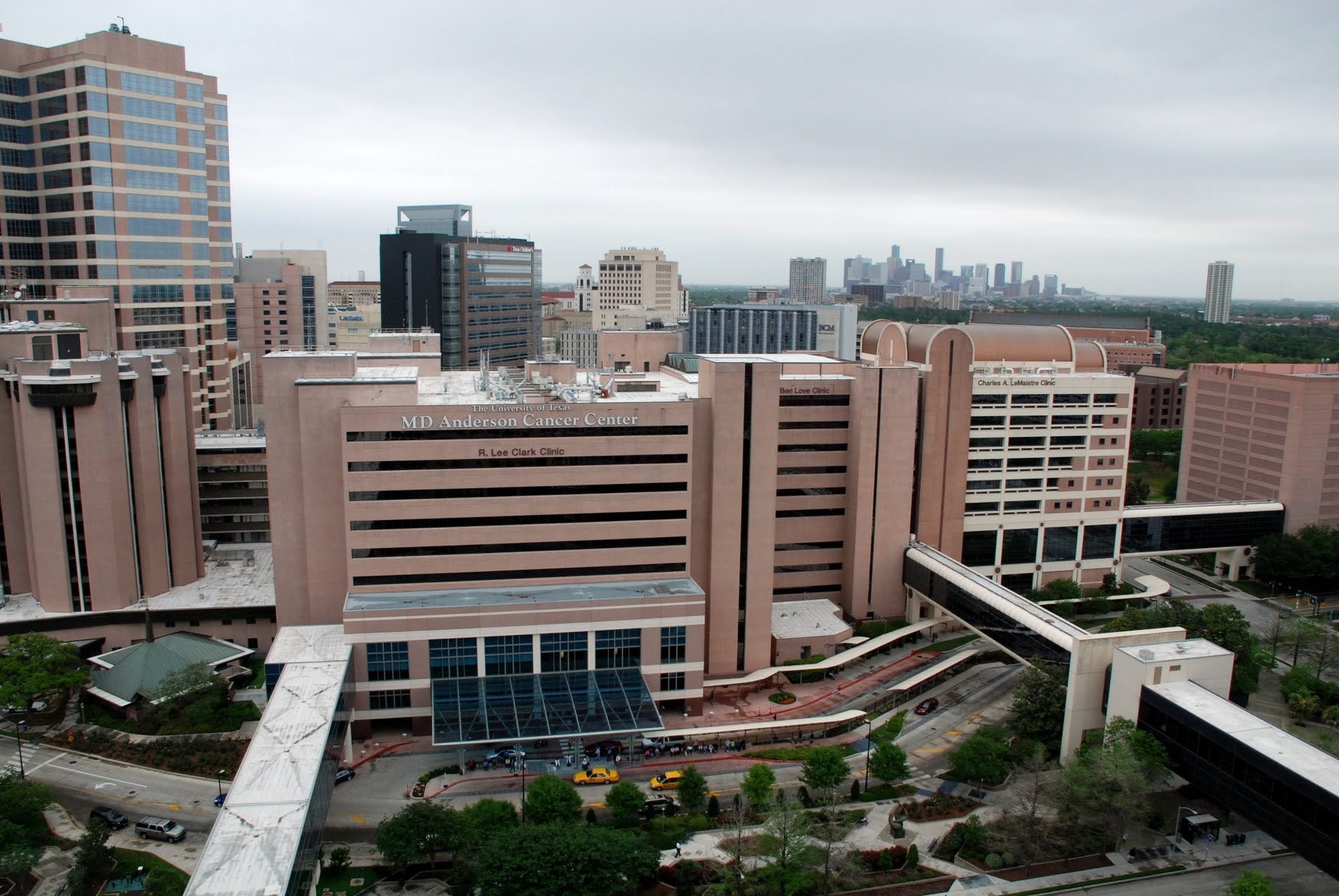Md Anderson Cancer Center R Lee Clark Clinic 11th Floor
