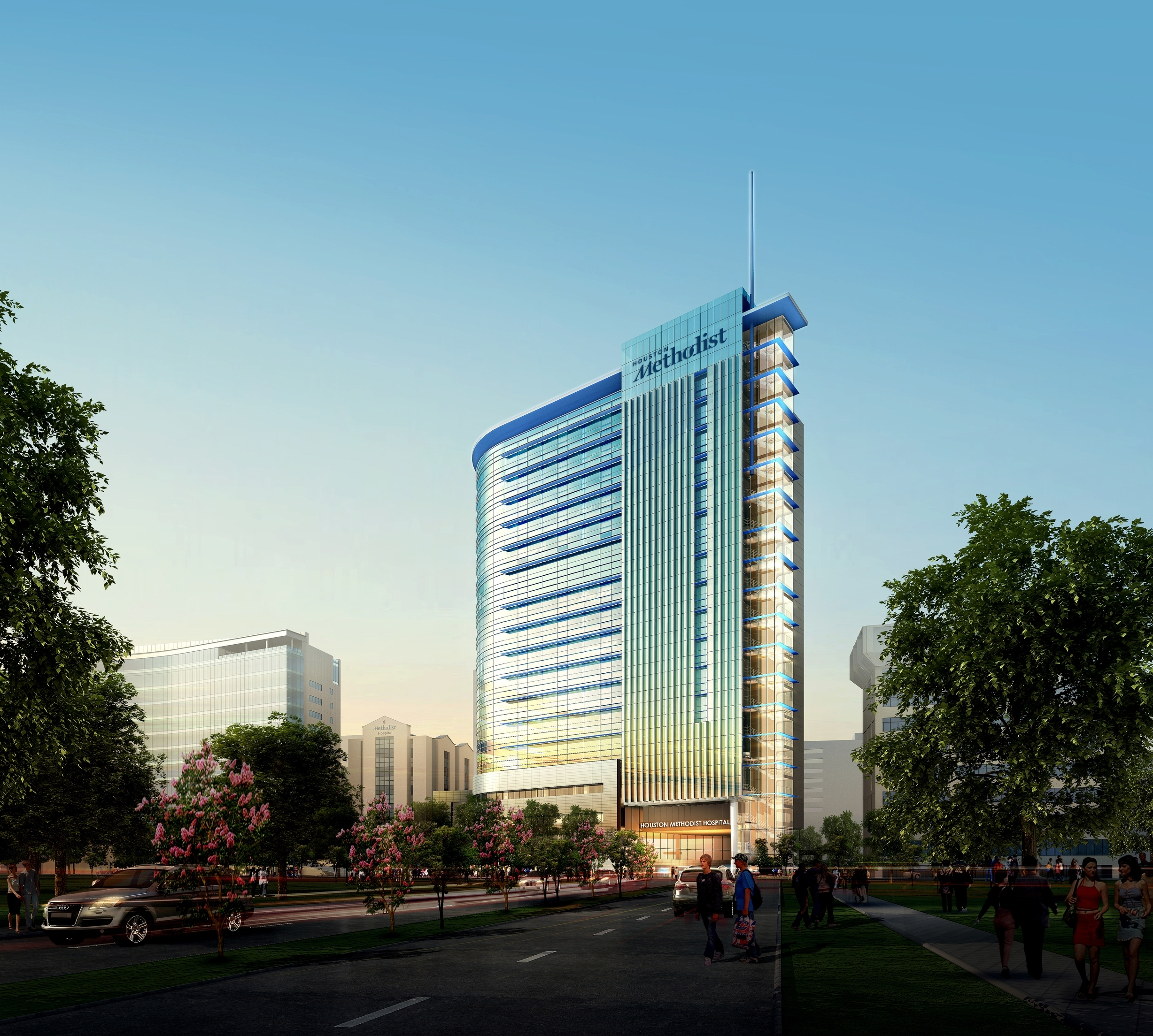 Houston Methodist Hospital North Campus Expansion Network Services